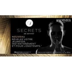 Secrets de Sothys : la perfection du soin !