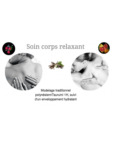 Soin corps relaxant