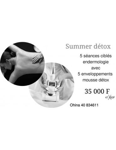 Summer détox corps