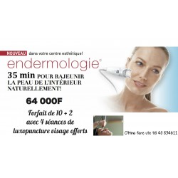 Endermologie  visage