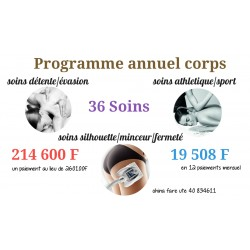 Programme annuel corps