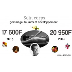Soin corps 2H45